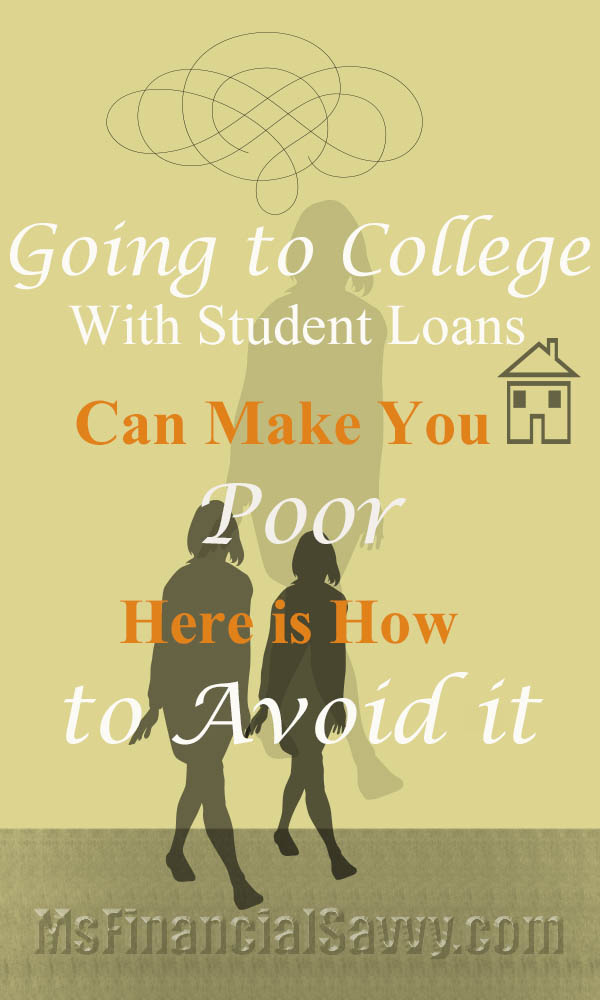 Going to college with student loans