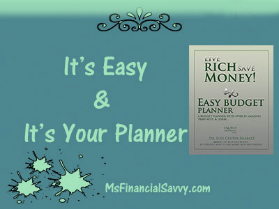 Easy Budget Planner for an outrageously great budget