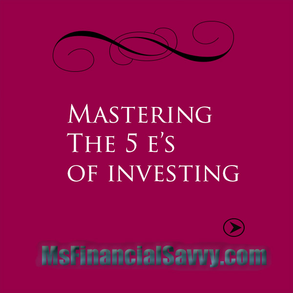 Mastering Investing