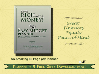 Easy Budget Planner at Msfinancialsavvy