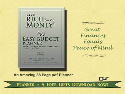 Easy Budget Planner at Msfinancialsavvy