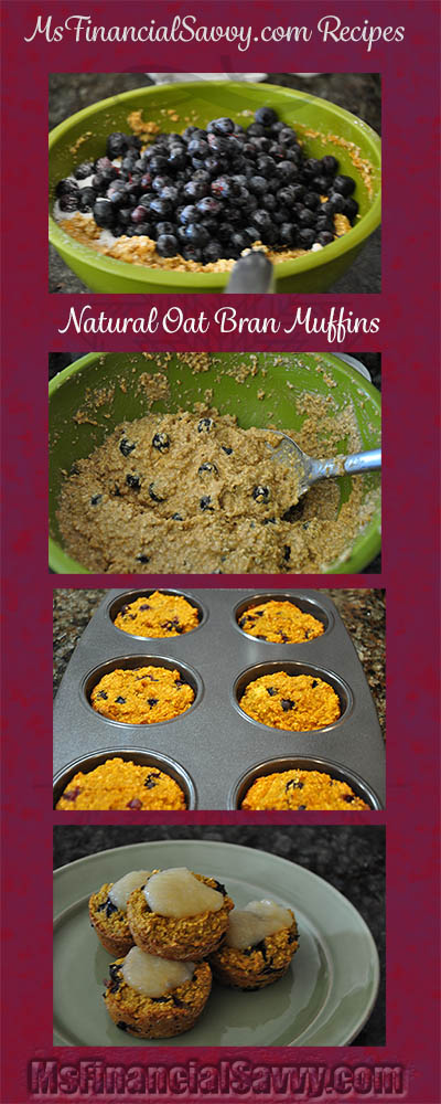 This is the tastiest oat bran muffin recipe you can buy at msfinancialsavvy.com