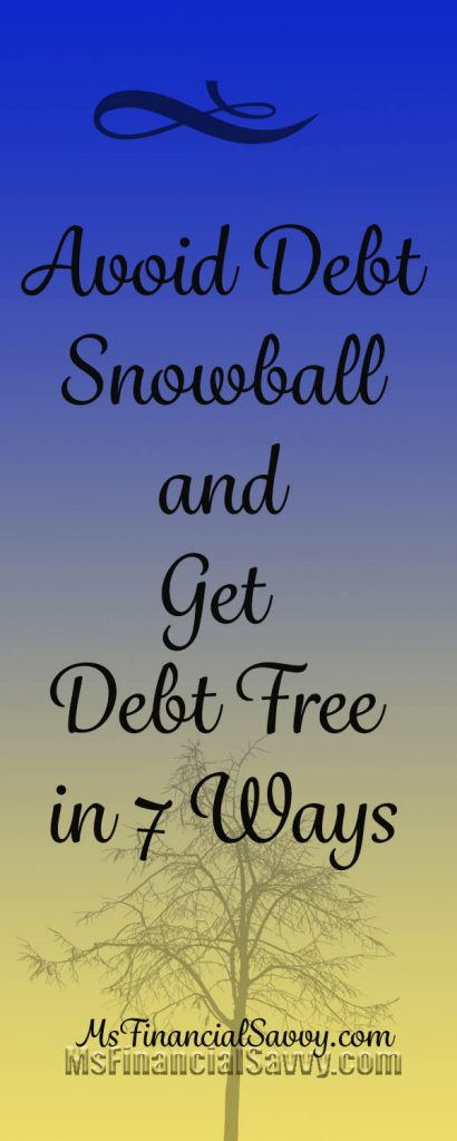avoid debt snowball