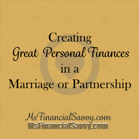 personal finances in marriage