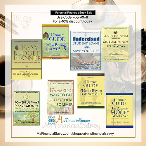 Top Personal Finance eBooks at MsFinancialSavvy