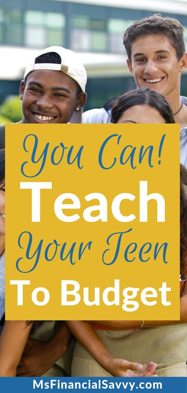 Teach your teen to budget, it' possible.