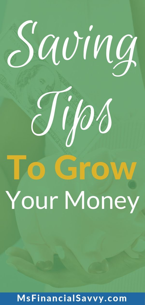 3 Saving tips to grow your money over time