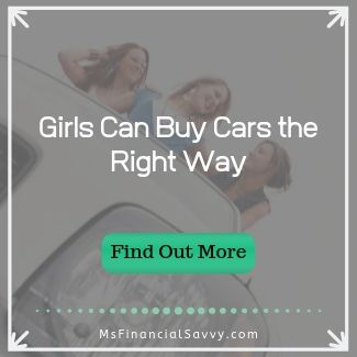 Girls can buy cars the right way