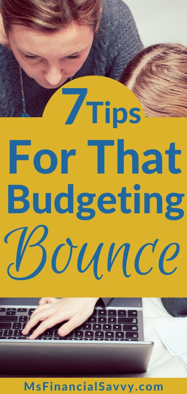 7 Tips for a Budgeting Basic Bounce