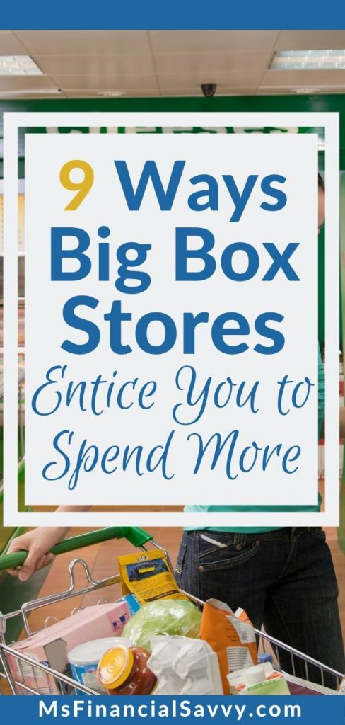 9 ways big box stores entice you to spend