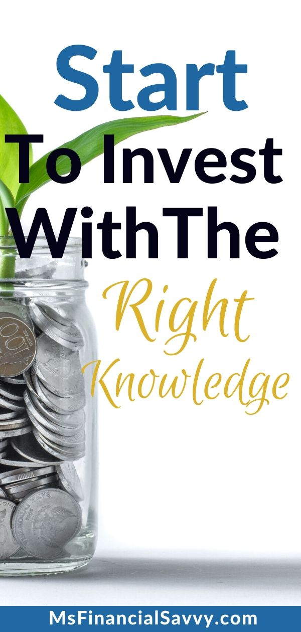 Your 3 Investment Stops To Start Investing