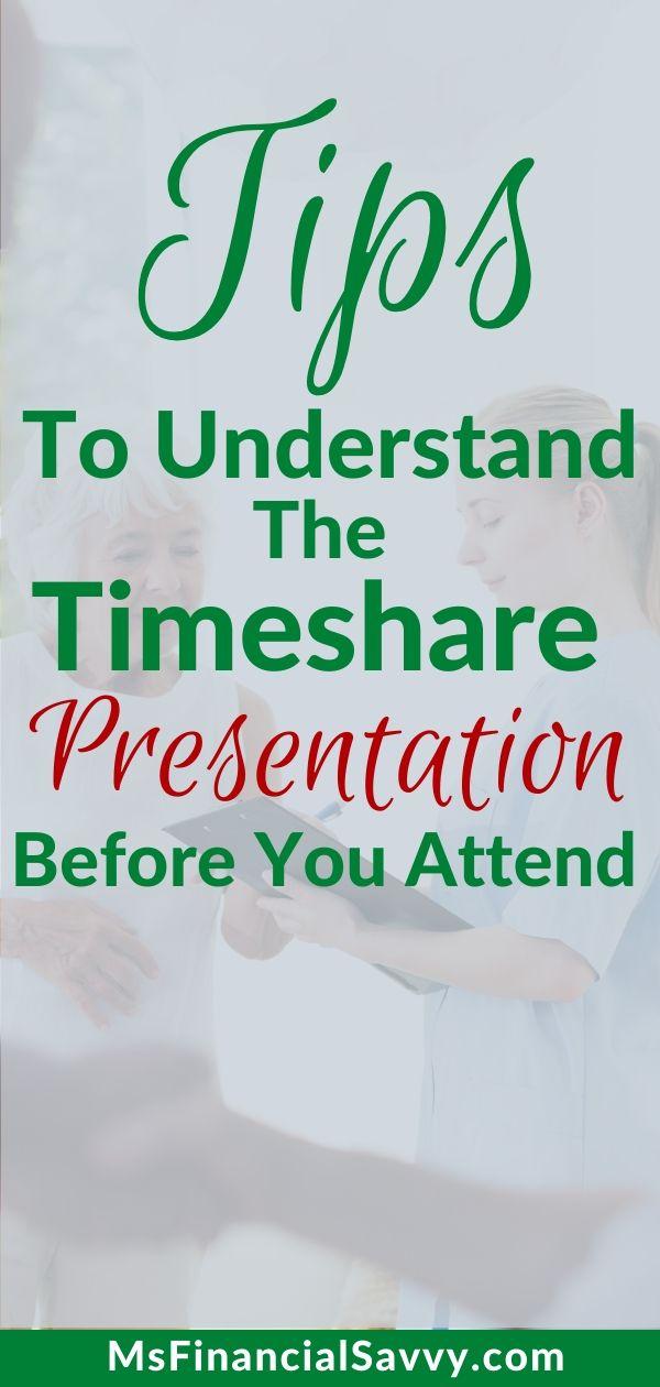 Secrets to the Timeshare Presentation