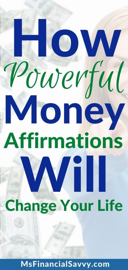 Powerful Positive Money Affirmations