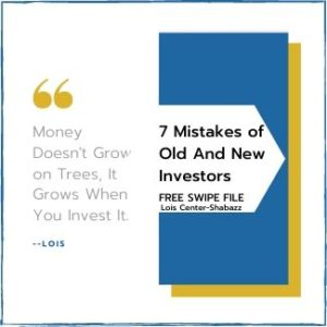 7 Mistakes of old and new investors-Free File