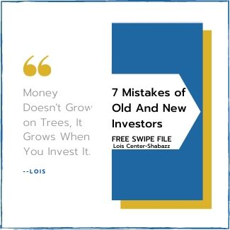 7 Mistakes of old and new investors-Free File, organize finances, create personal finances, do personal finance research, make personal finances that rock