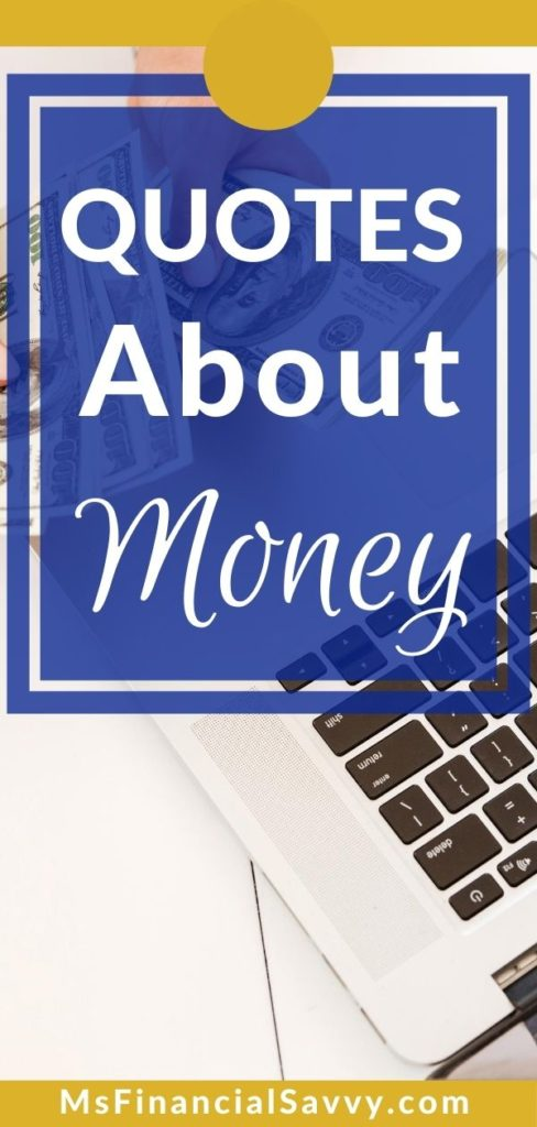 Money Quotes for Daily Use, Quotes about money by Lois Center Shabazz, MsFinancialSavvy