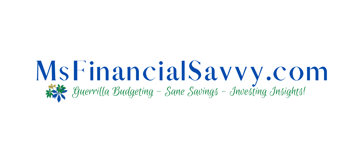 MsFinancialSavvy a personal finance website for guerrilla budgeting, sane savings, investing in stock, bonds, mutual funds and real estate. Persoanal Finance courses and tutorials.
