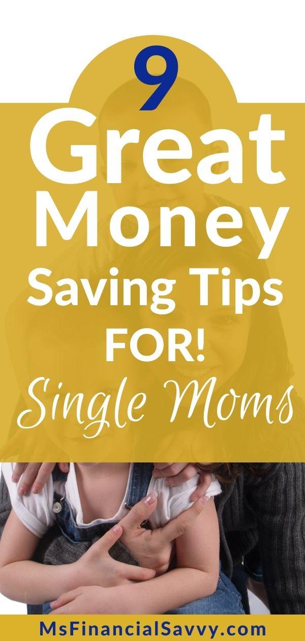 Money Saving Tips For Single Moms