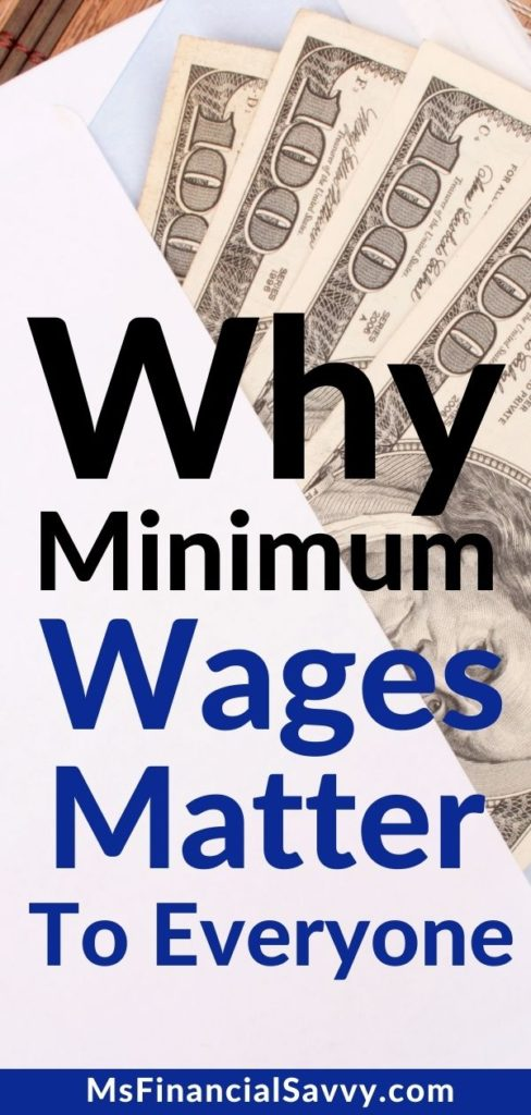 Why a livable wage that includes a minimum wage too low hurts everyone.